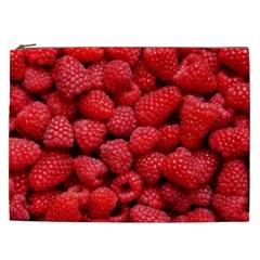 Raspberries 2 Cosmetic Bag (xxl)  by trendistuff