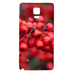Red Berries 1 Galaxy Note 4 Back Case by trendistuff