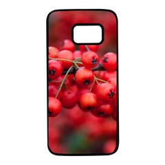Red Berries 1 Samsung Galaxy S7 Black Seamless Case by trendistuff