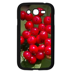 Red Berries 2 Samsung Galaxy Grand Duos I9082 Case (black) by trendistuff