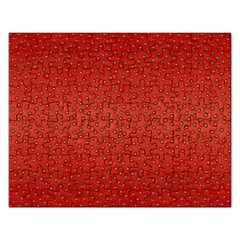 Strawberries 2 Rectangular Jigsaw Puzzl by trendistuff