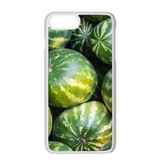 Watermelon 2 Apple Iphone 8 Plus Seamless Case (white)