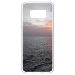Sunset Samsung Galaxy S8 White Seamless Case by sherylchapmanphotography