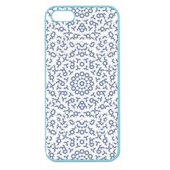 Radial Mandala Ornate Pattern Apple Seamless Iphone 5 Case (color) by dflcprints