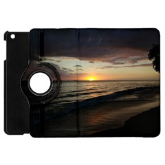 Sunset On Rincon Puerto Rico Apple Ipad Mini Flip 360 Case by sherylchapmanphotography