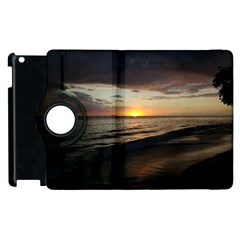 Sunset On Rincon Puerto Rico Apple Ipad 3/4 Flip 360 Case by sherylchapmanphotography