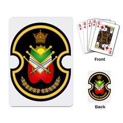 Shield Of The Imperial Iranian Ground Force Playing Card by abbeyz71