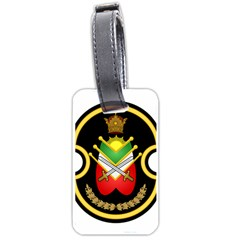 Shield Of The Imperial Iranian Ground Force Luggage Tags (one Side)  by abbeyz71