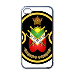 Shield Of The Imperial Iranian Ground Force Apple Iphone 4 Case (black) by abbeyz71