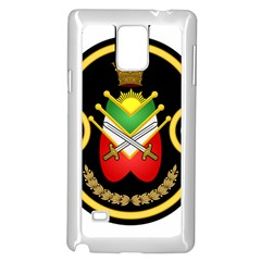 Shield Of The Imperial Iranian Ground Force Samsung Galaxy Note 4 Case (white) by abbeyz71