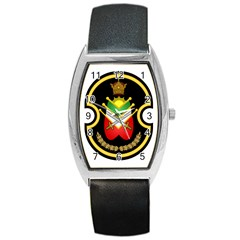 Shield Of The Imperial Iranian Ground Force Barrel Style Metal Watch by abbeyz71