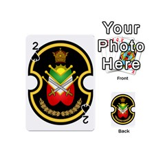 Shield Of The Imperial Iranian Ground Force Playing Cards 54 (mini)  by abbeyz71