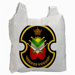 Shield Of The Imperial Iranian Ground Force Recycle Bag (one Side) by abbeyz71