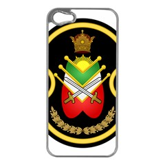 Shield Of The Imperial Iranian Ground Force Apple Iphone 5 Case (silver) by abbeyz71