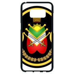 Shield Of The Imperial Iranian Ground Force Samsung Galaxy S8 Black Seamless Case by abbeyz71