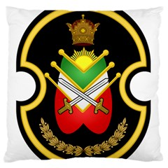 Shield Of The Imperial Iranian Ground Force Large Flano Cushion Case (two Sides) by abbeyz71