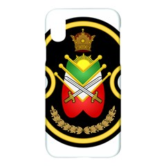 Shield Of The Imperial Iranian Ground Force Apple Iphone X Hardshell Case by abbeyz71