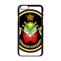 Shield Of The Imperial Iranian Ground Force Apple Iphone 6/6s Black Enamel Case by abbeyz71