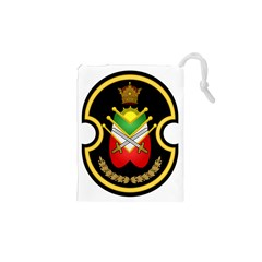 Shield Of The Imperial Iranian Ground Force Drawstring Pouches (xs)  by abbeyz71
