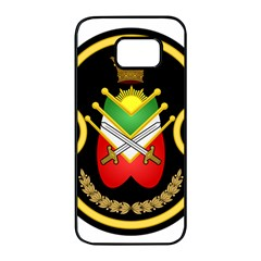 Shield Of The Imperial Iranian Ground Force Samsung Galaxy S7 Edge Black Seamless Case by abbeyz71