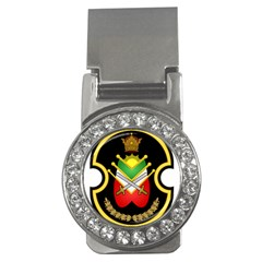 Shield Of The Imperial Iranian Ground Force Money Clips (cz)  by abbeyz71
