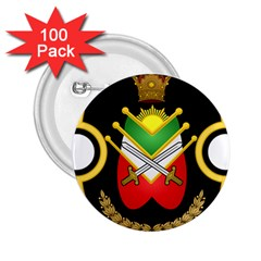 Shield Of The Imperial Iranian Ground Force 2 25  Buttons (100 Pack)  by abbeyz71