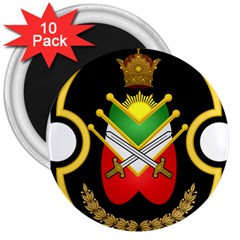 Shield Of The Imperial Iranian Ground Force 3  Magnets (10 Pack)  by abbeyz71