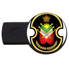 Shield Of The Imperial Iranian Ground Force Usb Flash Drive Round (2 Gb) by abbeyz71
