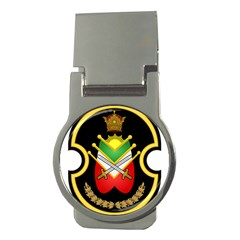 Shield Of The Imperial Iranian Ground Force Money Clips (round)  by abbeyz71