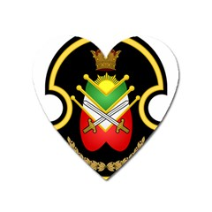 Shield Of The Imperial Iranian Ground Force Heart Magnet by abbeyz71