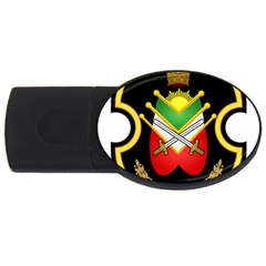 Shield Of The Imperial Iranian Ground Force Usb Flash Drive Oval (4 Gb) by abbeyz71