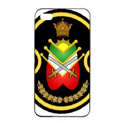 Shield Of The Imperial Iranian Ground Force Apple Iphone 4/4s Seamless Case (black) by abbeyz71