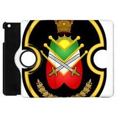 Shield Of The Imperial Iranian Ground Force Apple Ipad Mini Flip 360 Case by abbeyz71