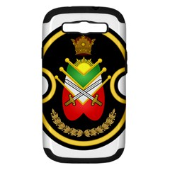 Shield Of The Imperial Iranian Ground Force Samsung Galaxy S Iii Hardshell Case (pc+silicone) by abbeyz71