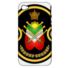 Shield Of The Imperial Iranian Ground Force Apple Iphone 4/4s Hardshell Case (pc+silicone) by abbeyz71