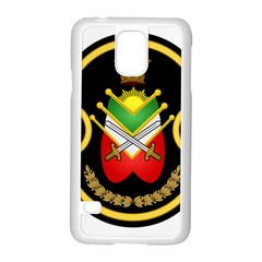 Shield Of The Imperial Iranian Ground Force Samsung Galaxy S5 Case (white)