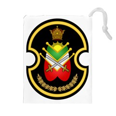 Shield Of The Imperial Iranian Ground Force Drawstring Pouches (extra Large) by abbeyz71