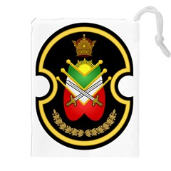 Shield Of The Imperial Iranian Ground Force Drawstring Pouches (xxl) by abbeyz71