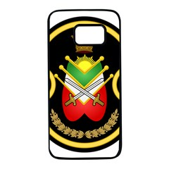Shield Of The Imperial Iranian Ground Force Samsung Galaxy S7 Black Seamless Case by abbeyz71