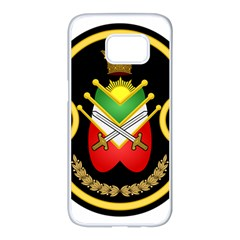 Shield Of The Imperial Iranian Ground Force Samsung Galaxy S7 Edge White Seamless Case by abbeyz71
