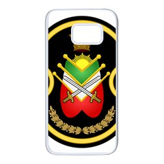 Shield Of The Imperial Iranian Ground Force Samsung Galaxy S7 White Seamless Case by abbeyz71