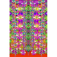Flower Wall With Wonderful Colors And Bloom 5 5  X 8 5  Notebooks by pepitasart