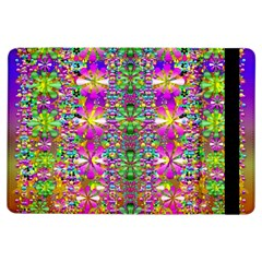 Flower Wall With Wonderful Colors And Bloom Ipad Air Flip by pepitasart