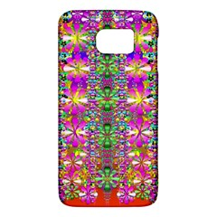 Flower Wall With Wonderful Colors And Bloom Galaxy S6 by pepitasart