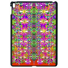 Flower Wall With Wonderful Colors And Bloom Apple Ipad Pro 9 7   Black Seamless Case by pepitasart