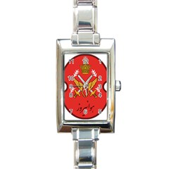 Seal Of The Imperial Iranian Army Aviation  Rectangle Italian Charm Watch by abbeyz71