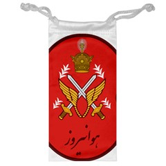 Seal Of The Imperial Iranian Army Aviation  Jewelry Bag by abbeyz71