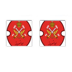 Seal Of The Imperial Iranian Army Aviation  Cufflinks (square) by abbeyz71