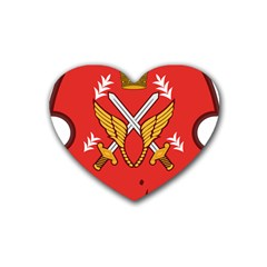 Seal Of The Imperial Iranian Army Aviation  Heart Coaster (4 Pack)  by abbeyz71