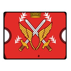 Seal Of The Imperial Iranian Army Aviation  Fleece Blanket (small) by abbeyz71